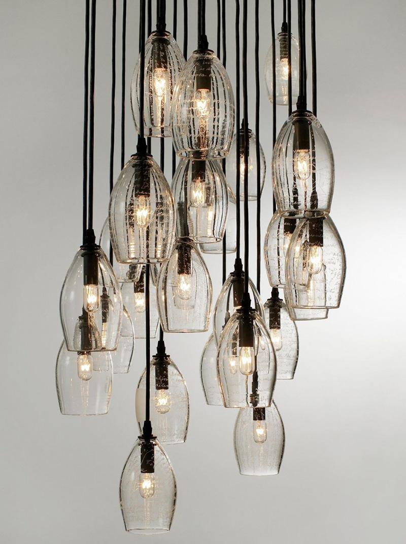 11 contemporary chandeliers that make a statement contemporist - Building a chandelier ...