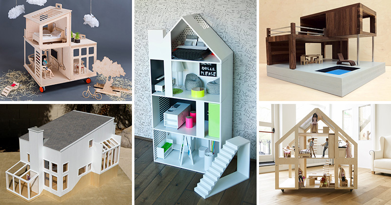 8 Modern Dollhouses That Are A Bit Of Cute Fun