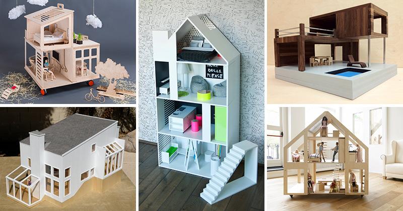 8 Modern Dollhouses That Are A Bit Of Cute Fun