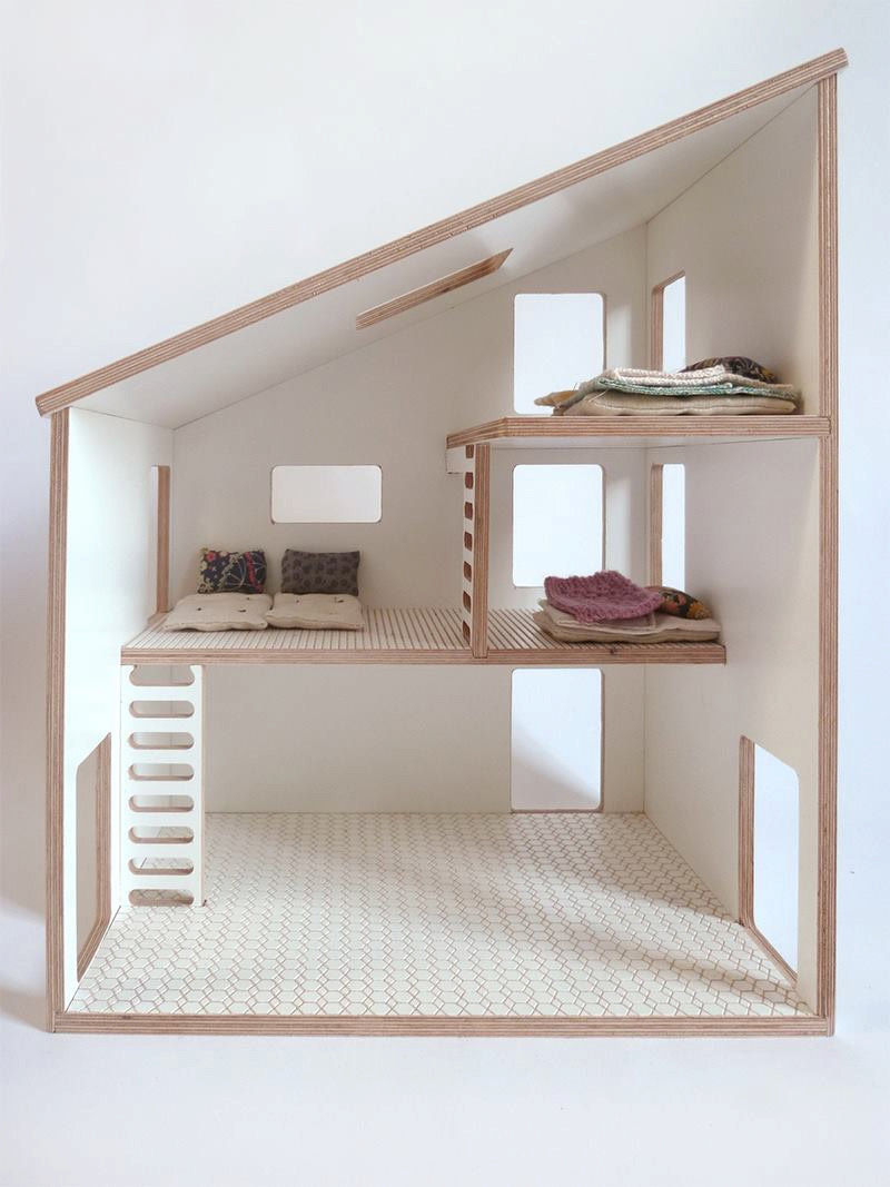 8 Modern Dollhouses That Are A Bit Of Cute Fun Contemporist
