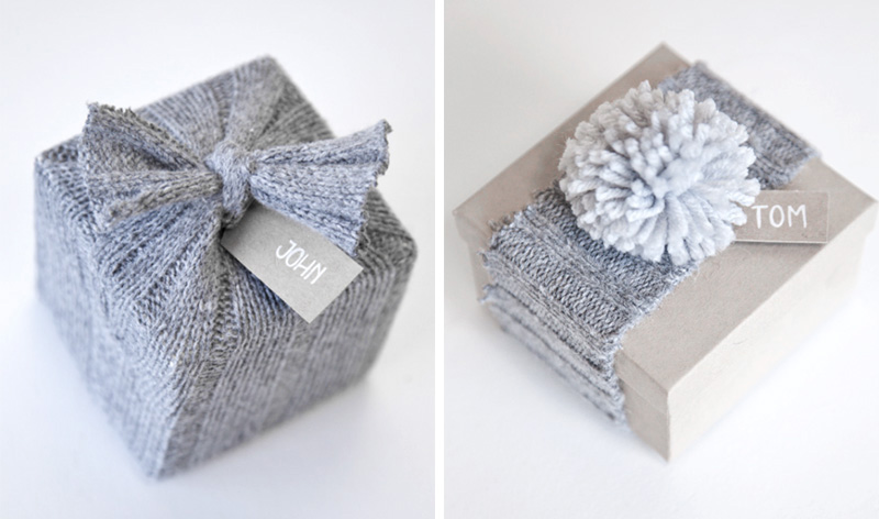 9 Modern Gift Wrapping Ideas For Christmas - 9 Modern Gift Wrapping Ideas For Christmas CONTEMPORIST