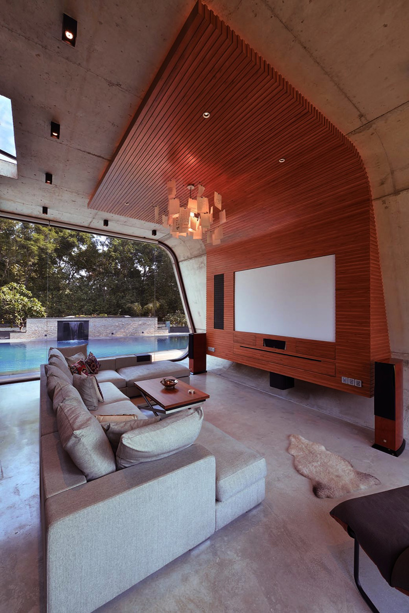 Pool House by 42mm Architecture
