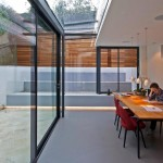 This 1980s house was updated with a lot of glass