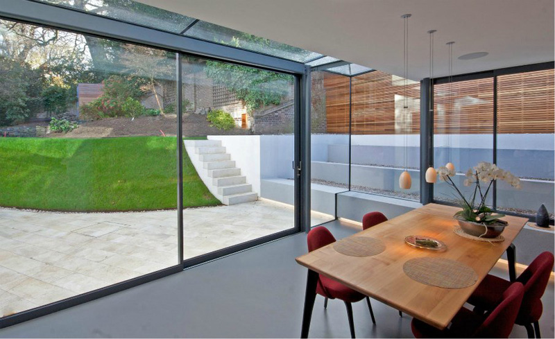 Rectory Orchard Wimbledon by architect Duncan Foster
