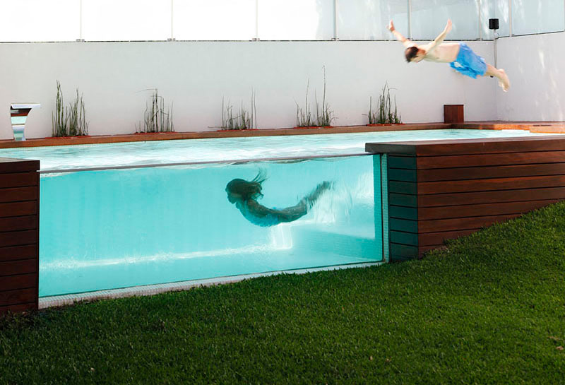 10 See Through Swimming Pools You Wish Were In Right Now