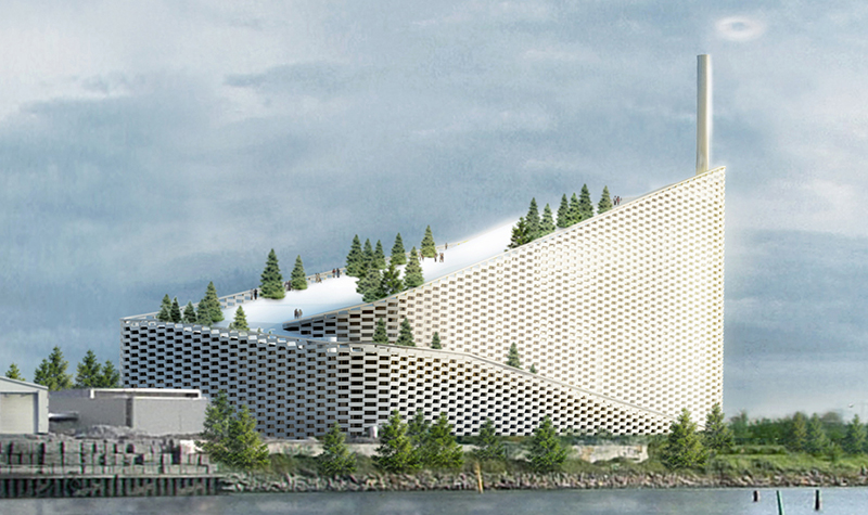 Incroyable Next, We Have Architecture Firm BIG (Bjarke Engels Group), That Designed  Amager Bakke, A Ski Slope Proposal For Copenhagen, Denmark.