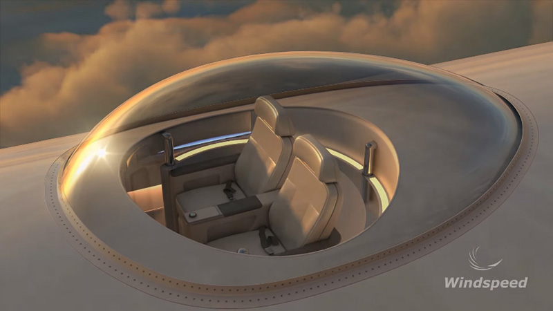 You'll be able to enjoy a 360 degree view above the clouds if SkyDeck becomes a reality