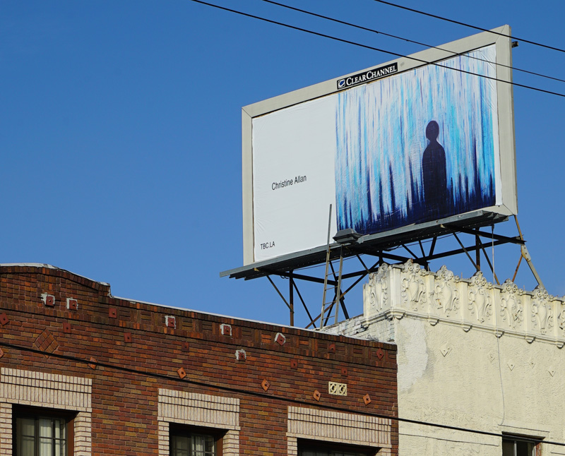 The Billboard Creative, an art exhibit in LA.