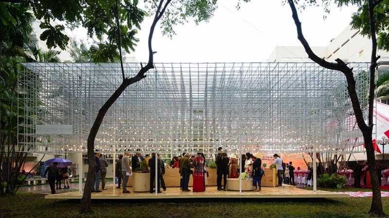 Vietnamese Food Pavilion by MIA Design Studio