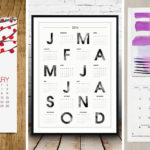 9 Wall Calendars To Keep You Organized In 2016 (plus they can double as art)