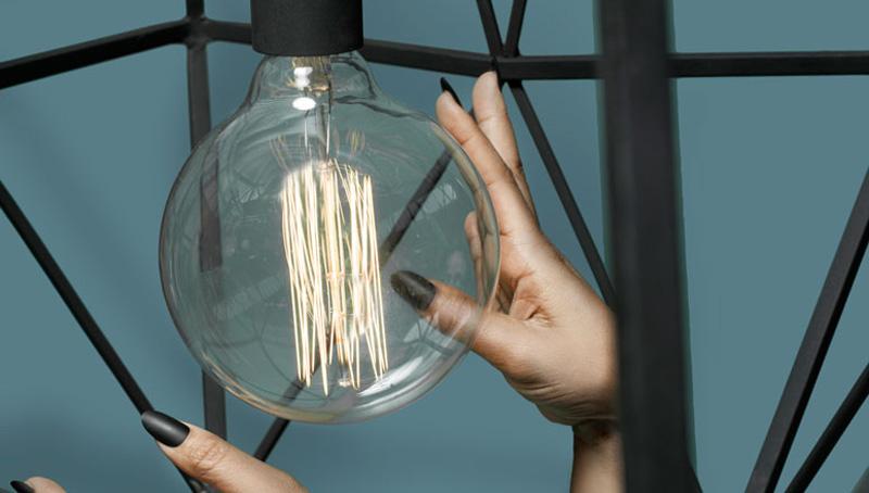 Sylvie Meuffels Designs Oversized Diamond Lamp For JSPR