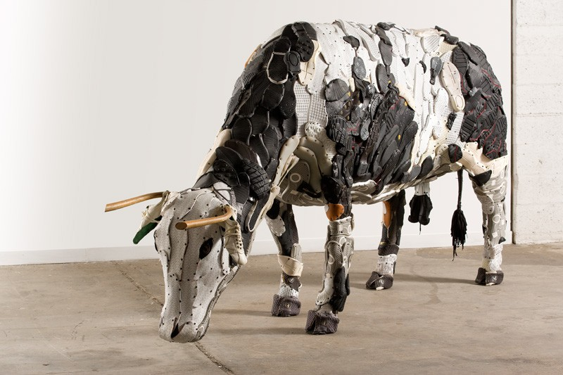 This Artist Made A Collection Of Farm Animal Sculptures From