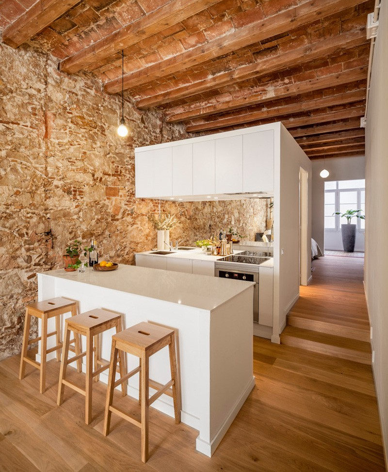 This Apartment Inside A Century Building Combines The Old