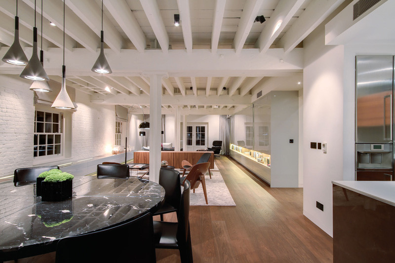 This apartment in London is inside a 200 year old building