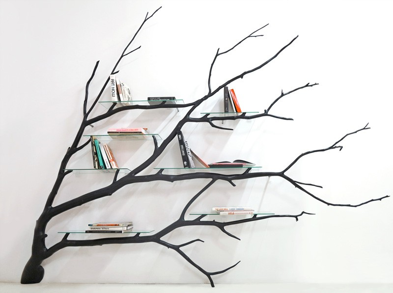 Bilbao Tree Shelf by Sebastian Errazuriz