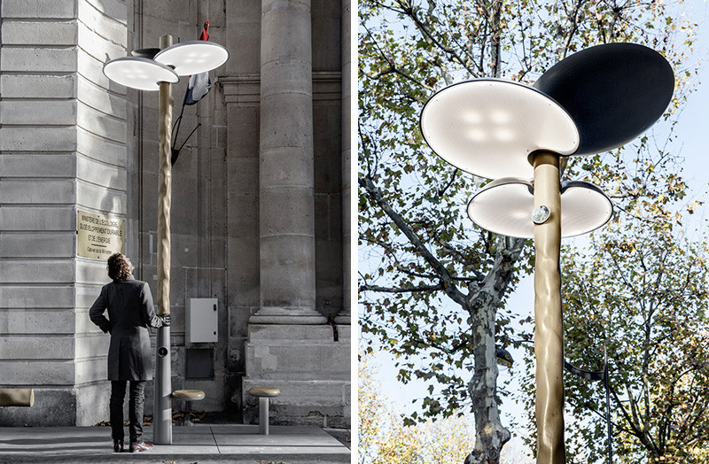 French designer Mathieu Lehanneur launches solar powered street lights