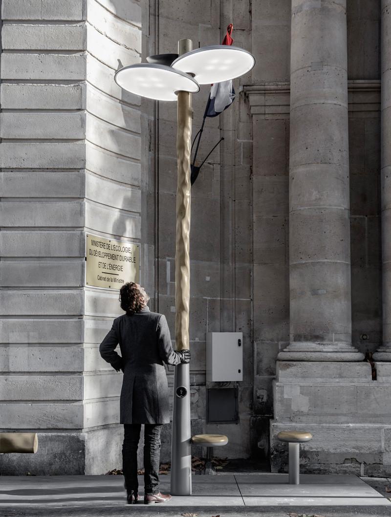 French designer Mathieu Lehanneur launches solar powered street lights