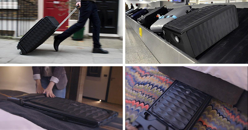 This Suitcase Claims To Be The World's First Smart, Collapsible, Hard Case Luggage