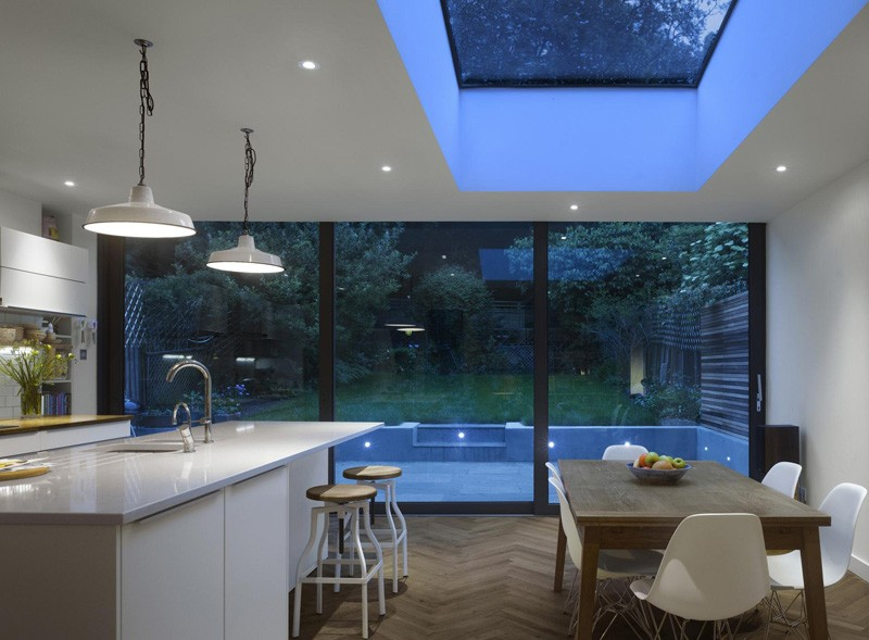 This Edwardian Terraced Home Received A Contemporary Extension