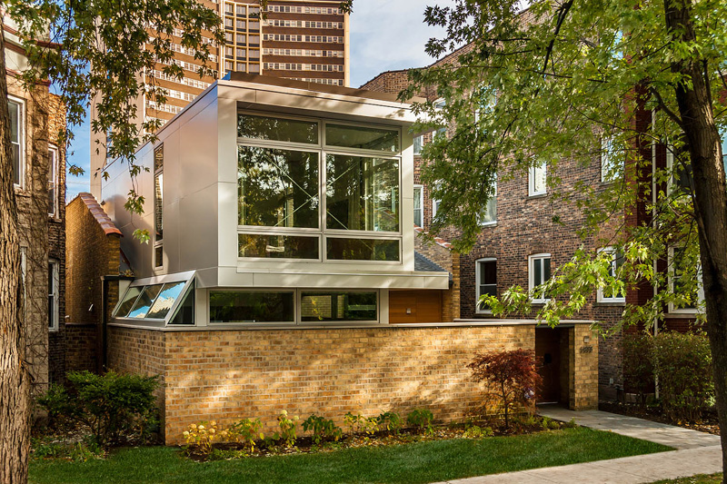 Before after a dark 1970s house in chicago gets a for 1970s house renovation