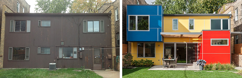 Periscope House in Chicago, Illinois, designed by Nicholas Design Collaborative