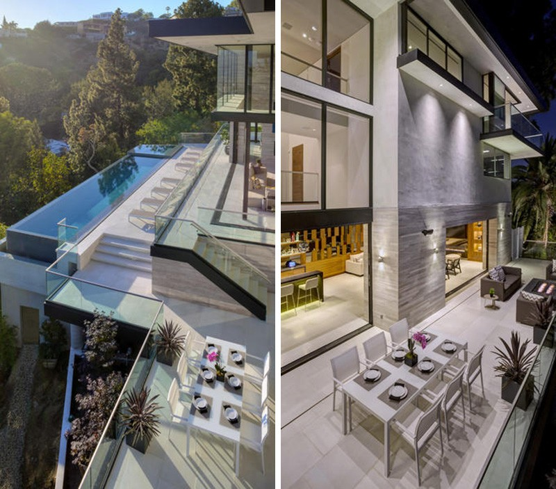 St Ives Drive House overlooking Sunset Strip in Los Angeles