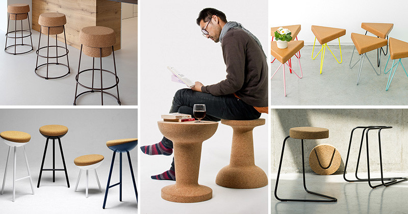 14 Fun And Stylish Examples Of Stools Made With Cork