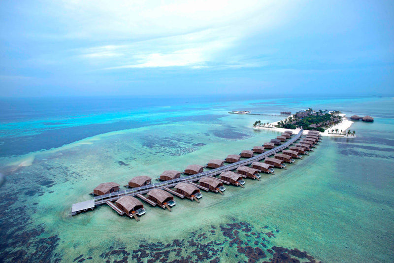 Finolhu Villas by Club Med, designed by Yuji Yamazaki Architecture
