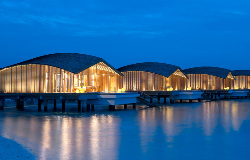 The world's first entirely solar powered five-star guest resort has opened in the Maldives, and it's named the Finolhu Villas by Club Med.