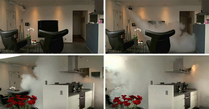 People are using fog cannons for home security, and it?s kind of awesome to watch