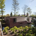Look inside a houseboat designed for a family that wanted to be living and floating on the water