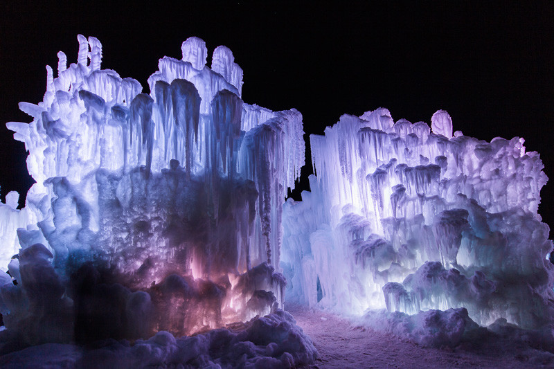 This Company Creates Magical Ice Castles In North America