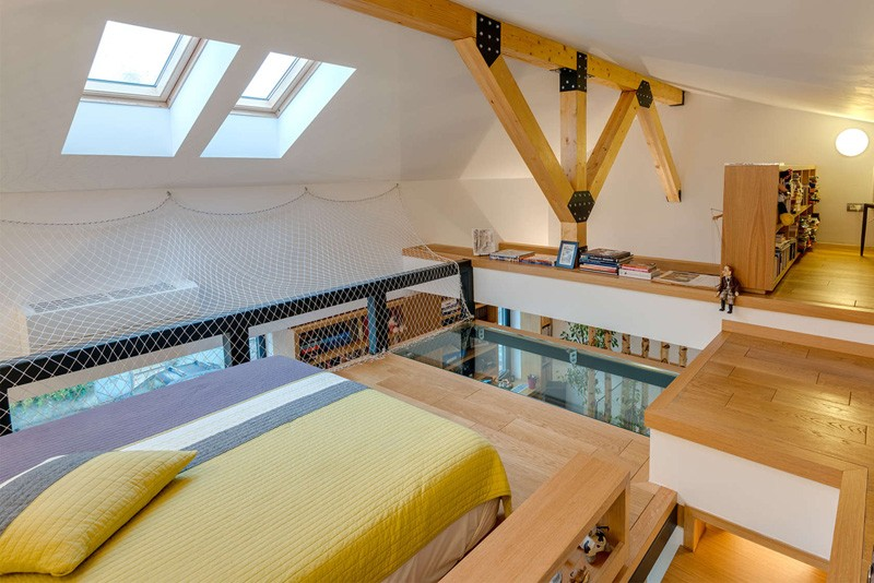 Loft Bedroom by In situ