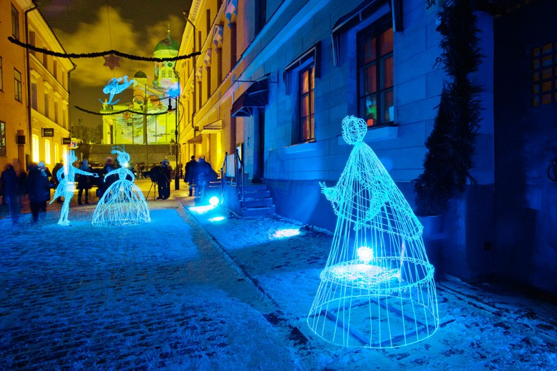 12 photos of the LUX Light Festival in Helsinki