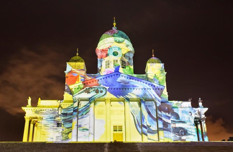 12 photos of the LUX Light Festival in Helsinki