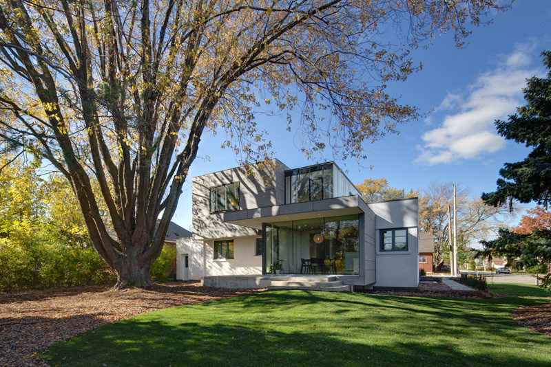 The Hambly House designed by DPAI Architecture in collaboration with Philip Toms of Toms + McNally Design