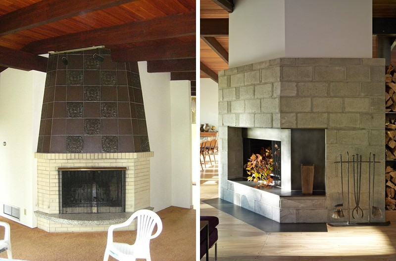 Before & After - Paradise Lane Renovation by Billinkoff Architecture