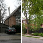 Before & After – A fence and garage update for a home in Toronto