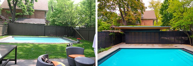Before & After - Rosedale 'PARK' by Amantea Architects