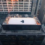 A rooftop ice rink has just been installed on a 32 story building in Toronto
