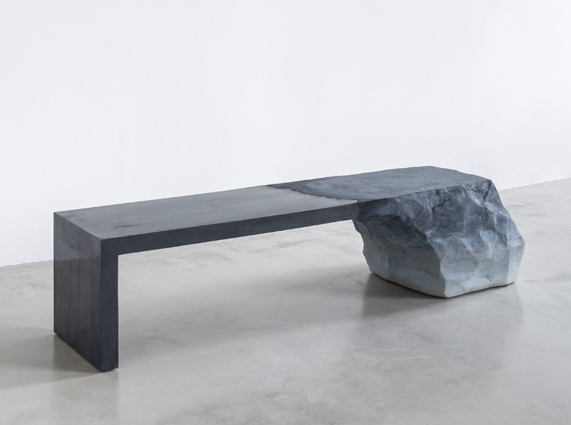 Sculptural Bench by Fernando Mastrangelo