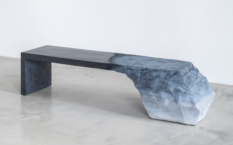 Sculptural Bench by Fernando Mastrangelo