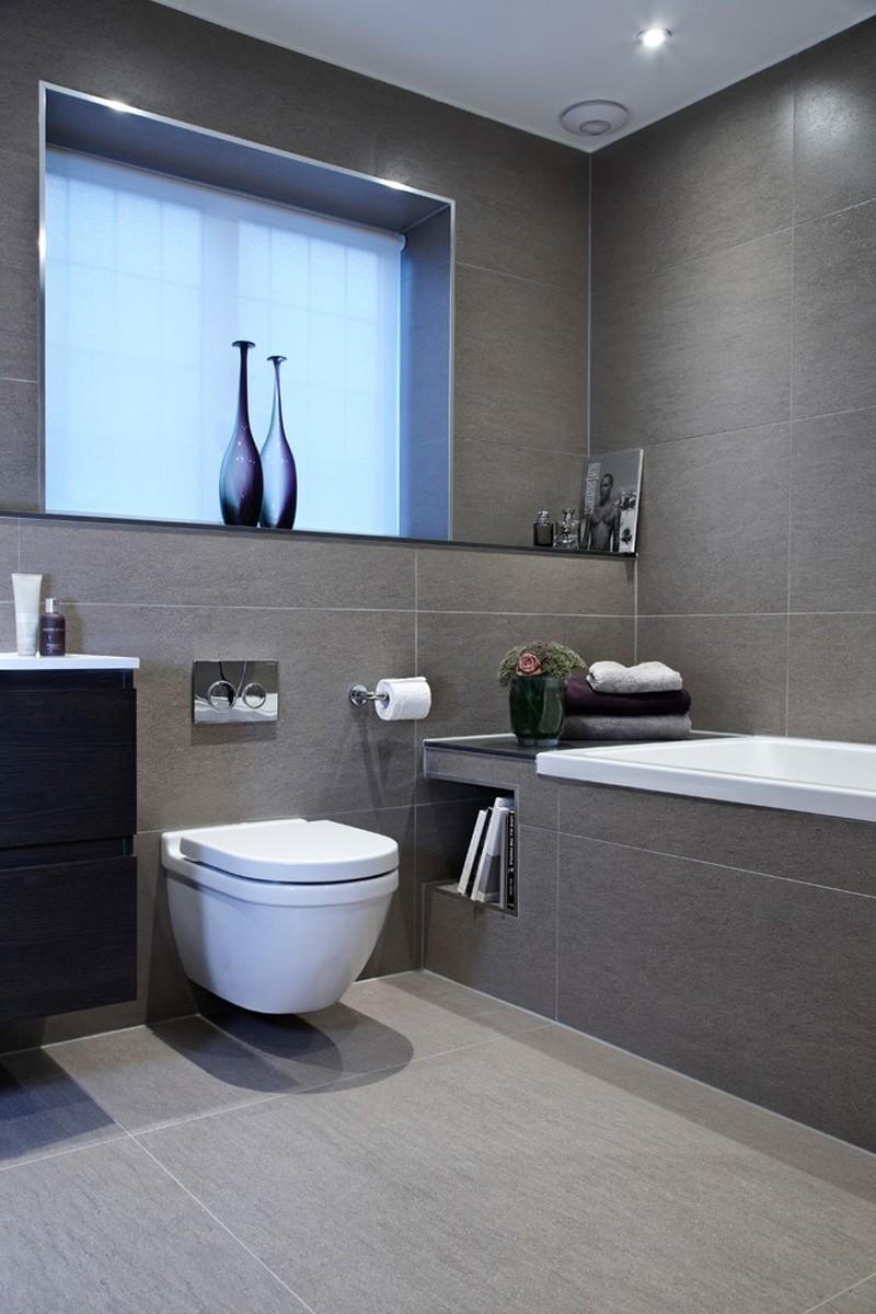 Gray And White Bathrooms, Bathroom Design Grey