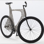 A team of students have designed and built a 3D printed metal bike