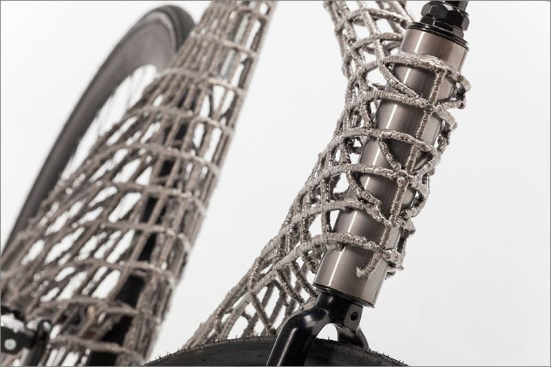 A Team Of Students Have Designed & Created A 3D Printed Metal Bike