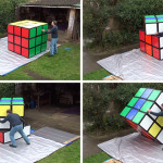 This Man Has Built The World's Largest Working Rubik's Cube
