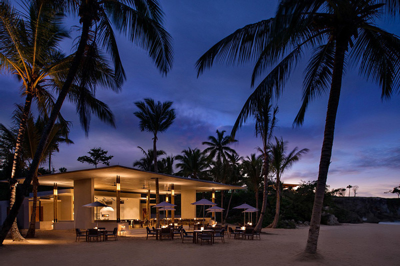 The Amanera Resort is located within the Caribbean jungle overlooking the ocean in picturesque Playa Grande, in the Dominican Republic.