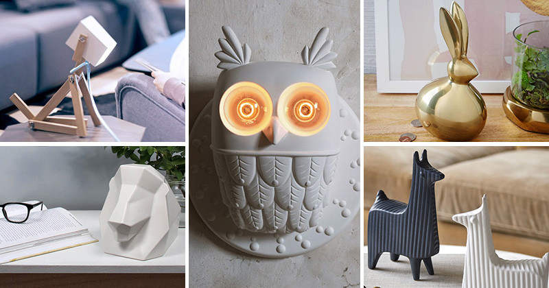 9 Ways To Add Some Animals To Your Decor...Without Having Pets