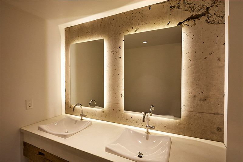 Spectacular  Reasons Why You Should Have A Backlit Mirror In Your Bathroom They Add