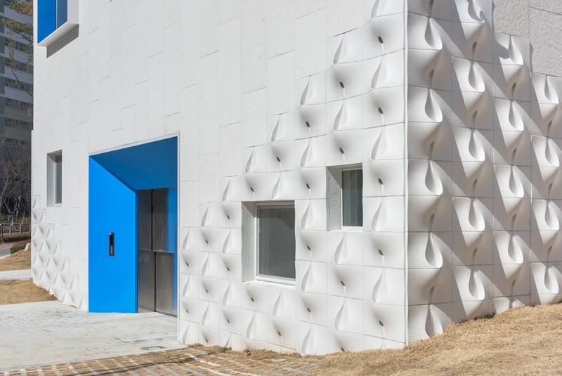 This Kindergarten Has Flowerpots Built In To The Facade